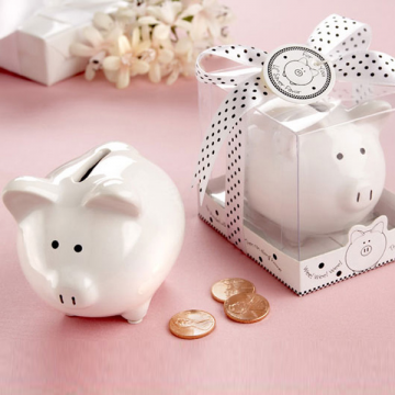 """Lil Saver Favor"" Ceramic Mini Piggy"
