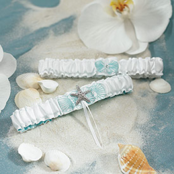 Seaside Garter Set
