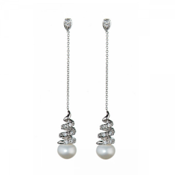 Athena Pearl Earrings