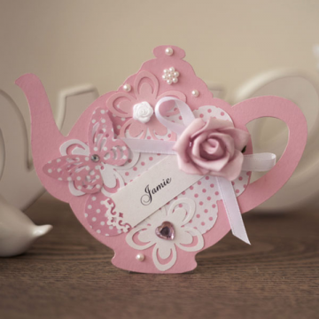 Polka Dot Delight Teapot