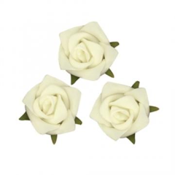 Rose head off white flowers 15pcs dabble indesign rose head off white flowers 15pcs mightylinksfo