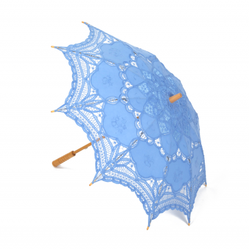 Blue Lace Parasol