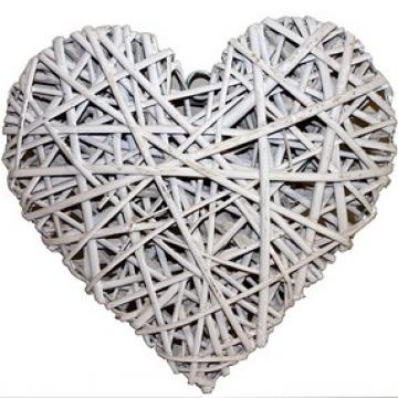 White Heart- Large