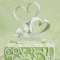Love Link Heart cake Topper