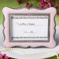 Victorian Style Frame Favor-Pink