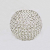 Crystal Ball Tea Light Candle Holder- Large