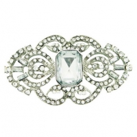 Diamonte Brooch- Large