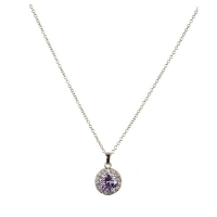 Grandeur Lilac Necklace