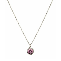 Grandeur Pink Necklace