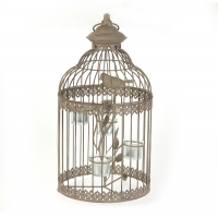 Parisian Style Birdcage Tealight Holder
