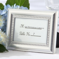 Beautifully Beaded Photo Frame/Placecard Holder